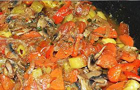 Испанское овощное рагу