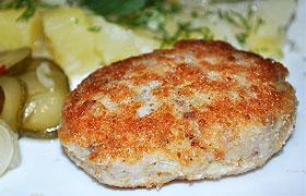 Рыбные котлеты из толстолобика