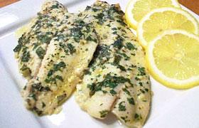 Лимонно-чесночный соус к рыбе