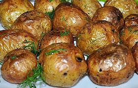 Запеченная в мундире картошка