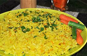 Рис для гарнира на сковороде