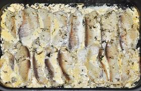 Белая рыба в сливочно-горчичном соусе