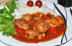 Куриные окорочка по-китайски