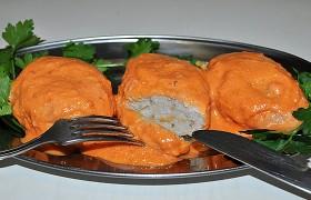 Тушеные рыбные котлеты без обжарки