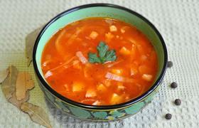 Ирландский густой суп с капустой