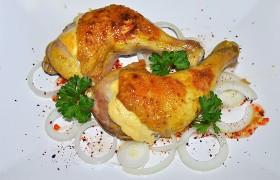 Куриные окорочка с сыром и хрустящей корочкой