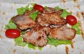 Простейший рецепт жареного мяса