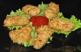 Куриное филе, панированное в чипсах