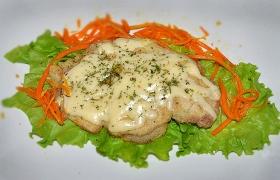Отбивные с сыром из свиной корейки