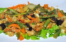 Рагу из свежих овощей