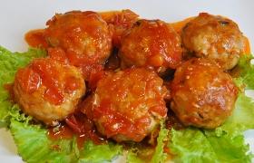 Острые тефтельки в томатном соусе