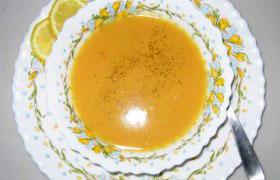 Молочный суп с абрикосами