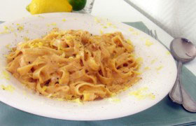 Лимонно-сливочный соус к пасте