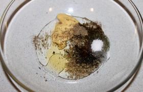 Стейк мачете в горчичном маринаде с травами, пошаговый рецепт с фото