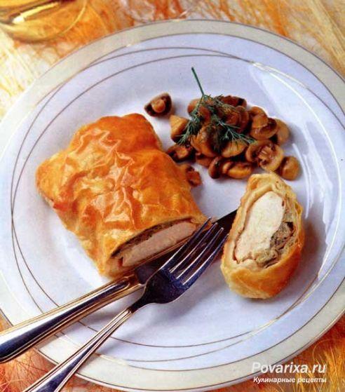 Рецепт блюд из куриной грудки в тесте — 1