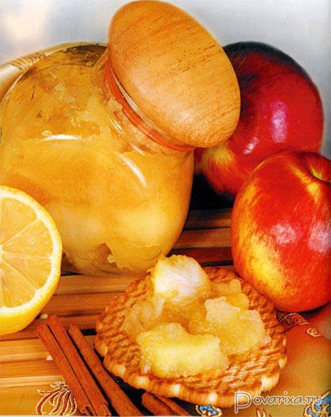 повидло с яблок с лимоном
