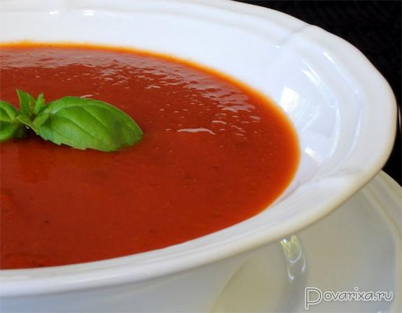 красный суп пюре