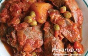 Свиное сердце в углях – кулинарный рецепт