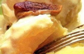 Картофель с грибным соусом