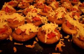Сушки с начинкой «Закуска для party»