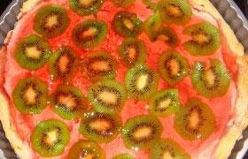 Пицца Клафути с киви