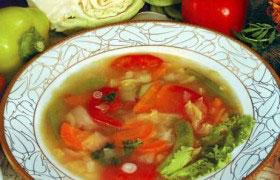 Едим суп - и худеем