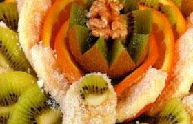 Фруктовый десерт «Тропики»