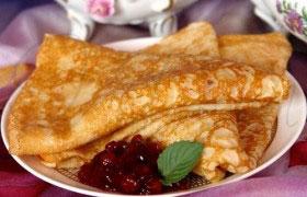 Русская кухня: оладьи