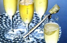 Десерт-желе  из шампанского