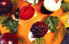 Оригинальный десерт с канапе