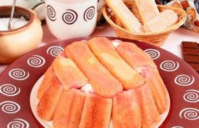 Творожный десерт с цукатами