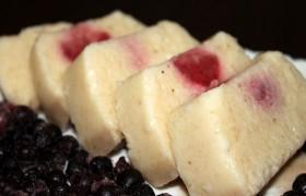 Десерт из бананов замороженный