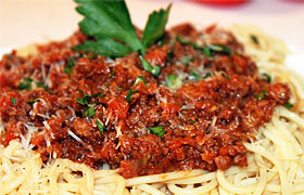 Спагетти Болоньезе - классический рецепт