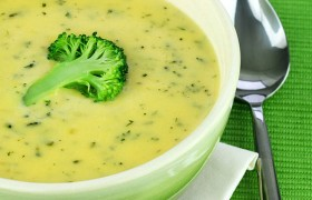 Суп из цветной капусты и брокколи