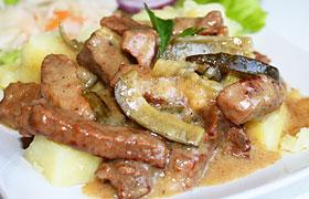 """Тушеное мясо """"Просто мечта!"""" – кулинарный рецепт"""
