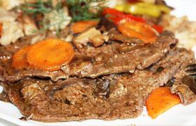 Говядина запеченная в фольге с овощами рецепт с фото — pic 4