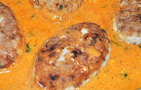 Томатный соус для рыбных котлет