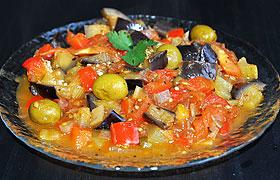 Капоната, овощи по-сицилийски