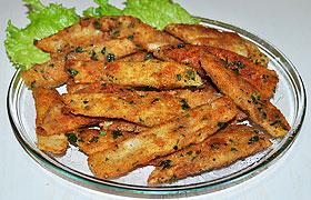 Рыбные палочки из тилапии