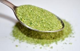Приправа из стеблей зелени