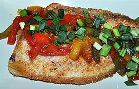 Жареная рыба по-вьетнамски