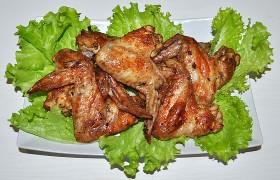 Куриные крылышки в чесночном маринаде