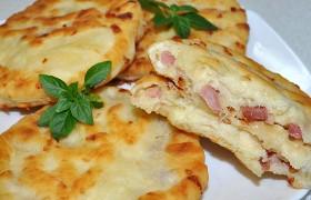 Сырные лепешки, быстрые и вкусные