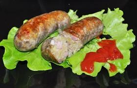 Картофельные колбаски с мясом