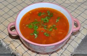 Куриный суп с овощами по-мексикански