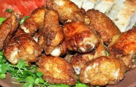 Крылышки в соевом соусе на сковороде