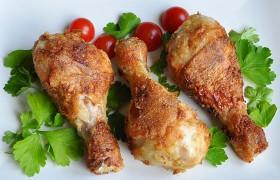 Жареные куриные ножки с горчицей