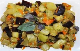 Пикантная закуска из овощей