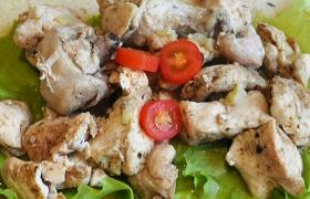 Курица в собственном соку в духовке
