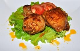 Жареная курица в оригинальном маринаде